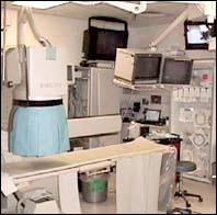ERCP procedure room