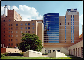 Methodist hospital is the largest private hospital in indiana the two